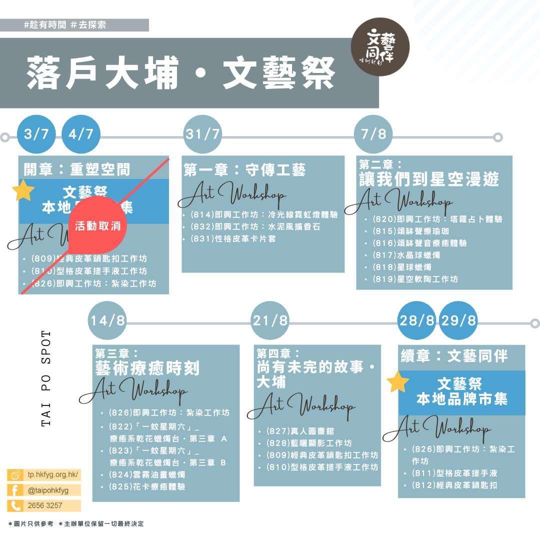 文藝祭workshop系列 (2)